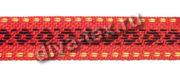 Лента для тапочек красная
