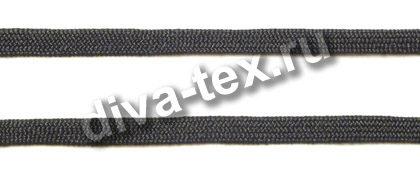 Шнур полиэфирный плетеный - черный