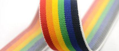 Резинка башмачная цветная 20 мм