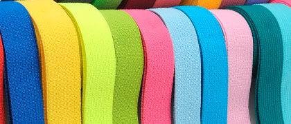 Резинка вязанная цветная 4 мм