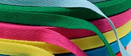 Лента киперная ХБ цветная 10 мм