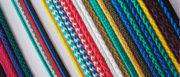 Шнур круглый цветной полиэфирный 6 мм